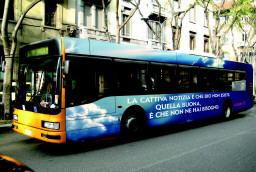 Italian Atheist Bus