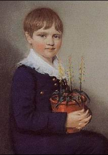 Charles Darwin - child portrait (painting).