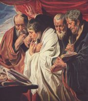 The Four Evangelists by Jakob Jordaens
