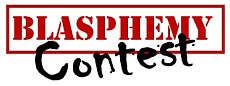 Center for Free Inquiry Blasphemy Contest logo
